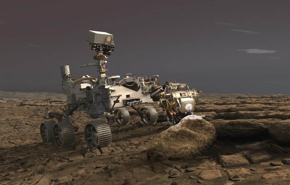 Was there life on mars- UK scientists play key part in NASA mission to Red Planet Image credit -NASA-JPL-Caltech