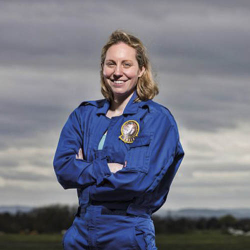 Dr Imber is a space plasma physicist, a high altitude mountaineer, an explorer, and maybe one day, an astronaut!