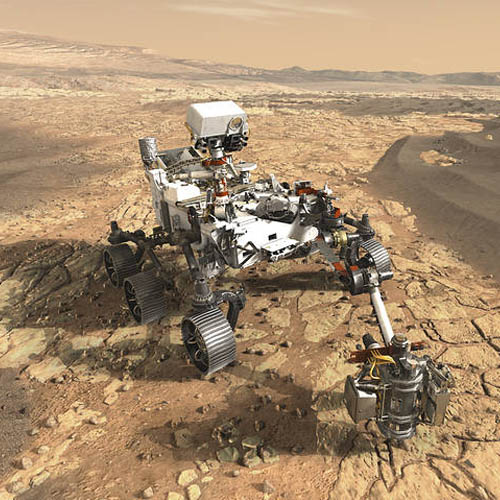 'Was there life on mars?' UK scientists play key part in NASA mission to Red Planet - Image Credit:  NASA/JPL-Caltech